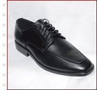 Men's Vinyl Tuxedo Shoes