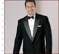 Men's Peak Lapel Tuxedo Jacket on Sale